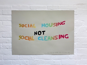 social housing not social cleansing